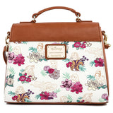 Disney Princess Floral AOP Loungefly Crossbody