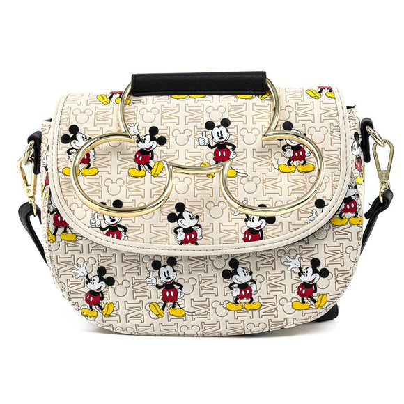 Mickey Hardware AOP Loungefly Crossbody