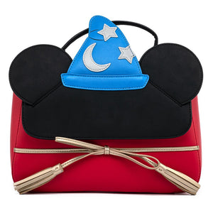 Sorcerer Mickey Loungefly Cosplay Crossbody