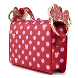 Minnie Mouse Pink Polka Dot Loungefly Crossbody