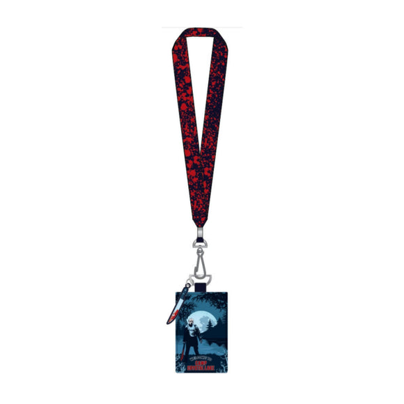Friday the 13th Camp Crystal Lake Loungefly Lanyard with Cardholder