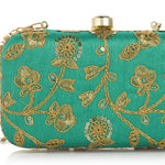 SKINZ™ Designer Box Clutch for Bridal, Casual, Party