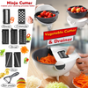 DDNinjaCutter - 9 in 1 Vegetable Cutter & Drainer