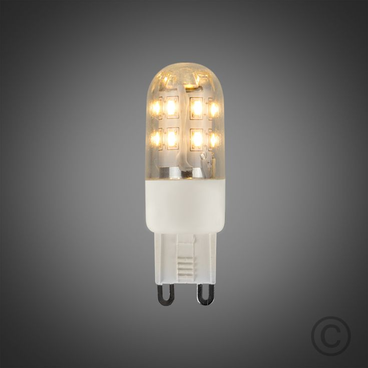 LED G9 Lamp - 3W - Warm White