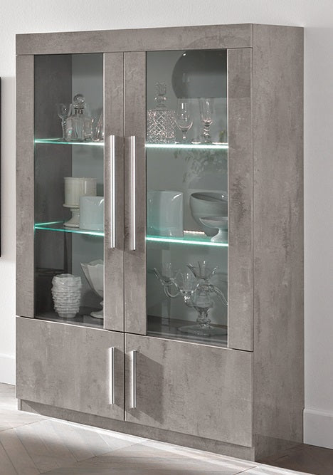 Verona 2 Door Display Cabinet