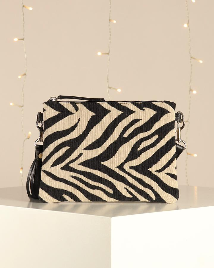 Hill & How Hetty Crossbody - Zebra