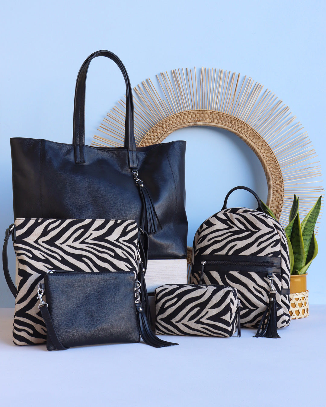 Hill & How Rosa Crossbody - Zebra