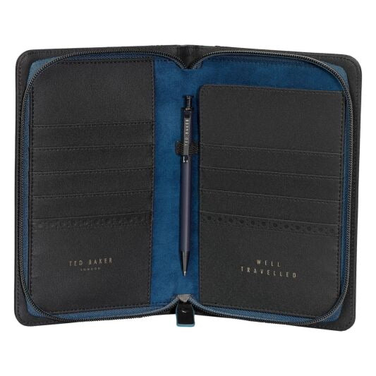 Ted Baker Black Brogue Organiser