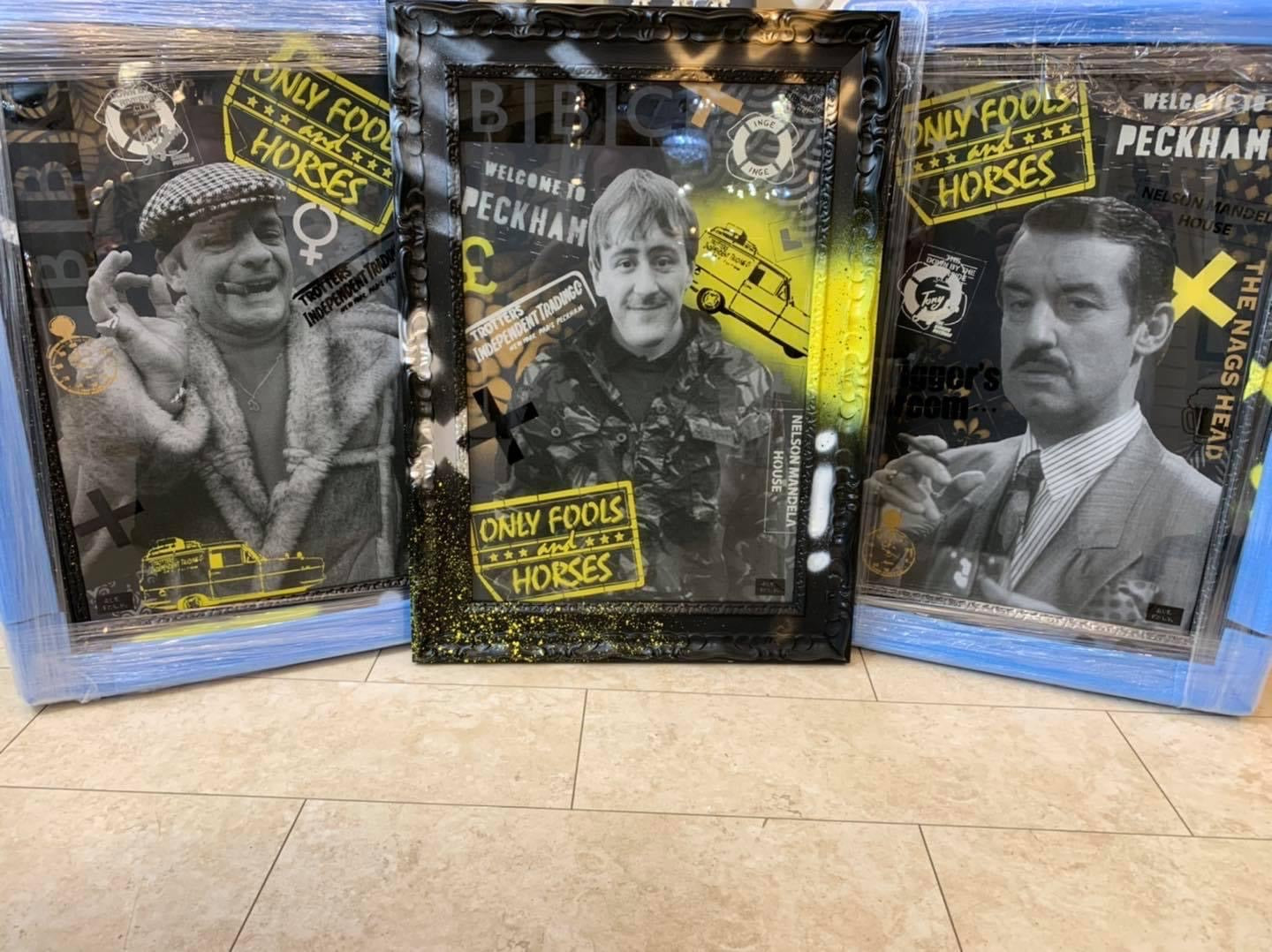 Hue Folk 'Only Fools & Horses' Original Artwork