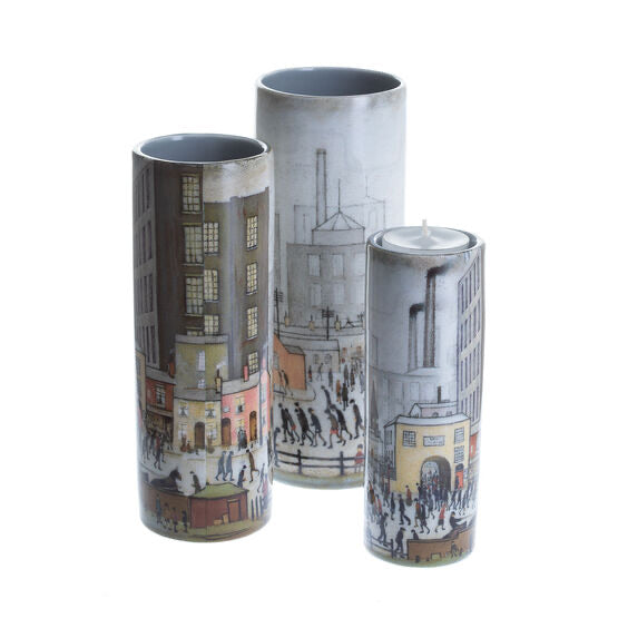 Lowry - Coming From The Mill Tealight Holder