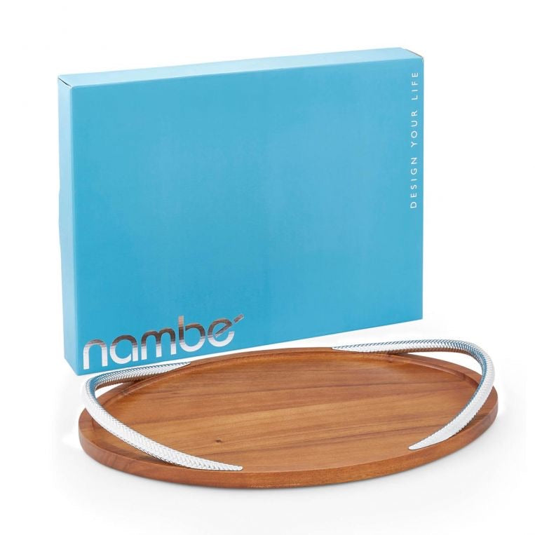 Nambè Braid Serving Tray