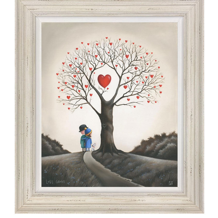 Michael Abrams 'Love Grows' Limited Edition - Canvas
