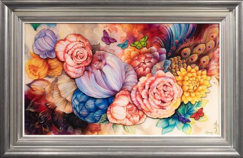 Kerry Darlington 'Floral' Unique Limited Edition