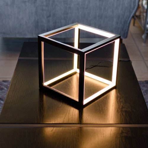 Cube LED Table Lamp