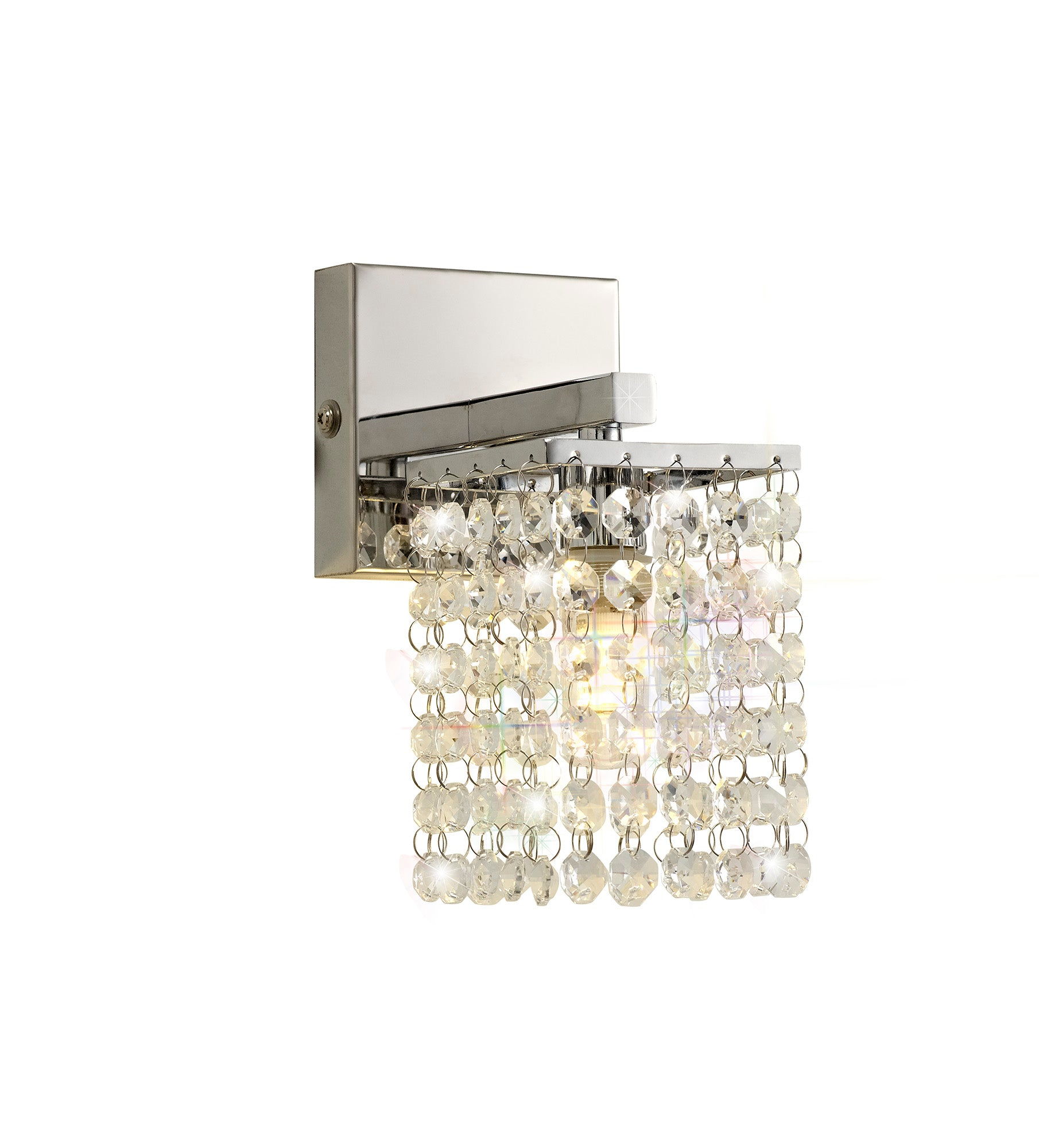 Devon Single Crystal Wall Light - IP44