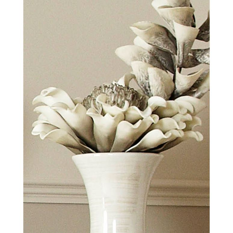 Grey Foam Flower Stem