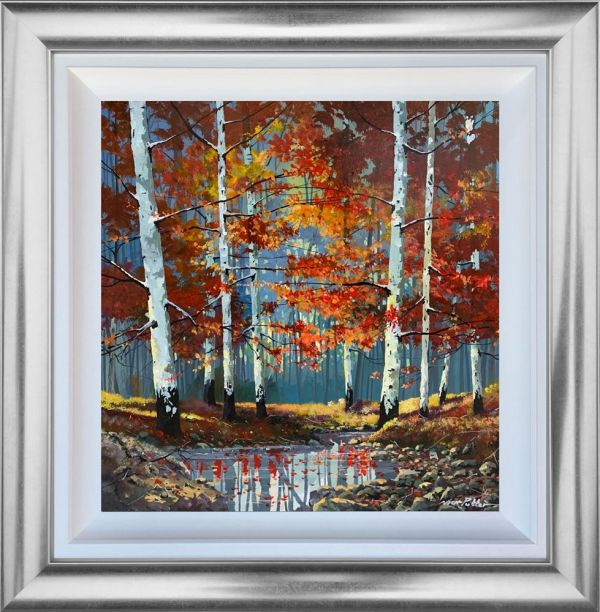 Nick Potter ' Silver Birch Reflections' Original