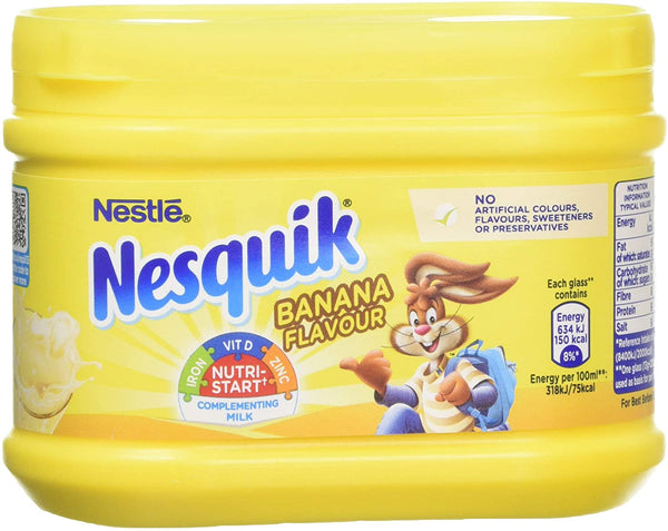 NESQUIK BANANA MILK SHAKE MIX