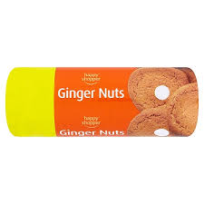 HAPPY SHOPPER GINGER NUTS