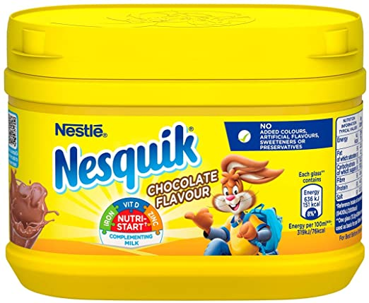 NESQUIK CHOCOLATE MILKSHAKE MIX
