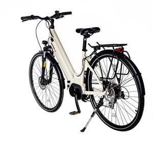 Gamma S+ high torque centre-mounted motor step through bluetooth electric bike