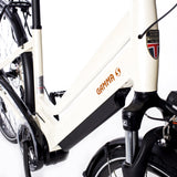 Load image into Gallery viewer, Gamma S+ high torque centre-mounted motor step through bluetooth electric bike