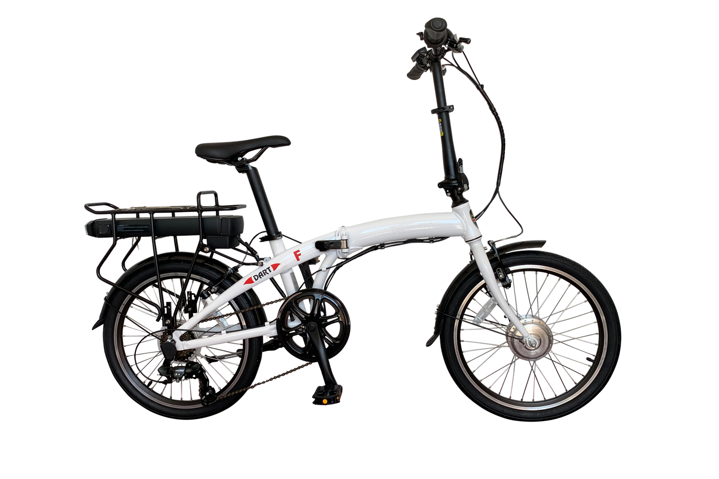 DART-F front hub motor folding electric bike