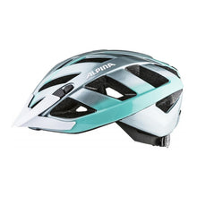 Load image into Gallery viewer, Alpina Panoma 2.0 Helmet in Steel Grey/Green
