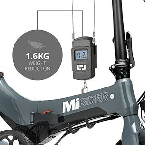 MiRider One folding electric bike
