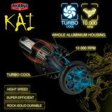 Kai Akarui Led Headlight Bulbs Conversion Kit - H4 (9003)
