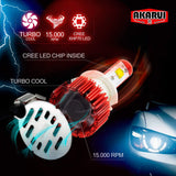Akarui Led Headlight Bulbs Conversion Kit - 9012