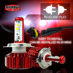 Akarui Led Headlight Bulbs Conversion Kit - 9007
