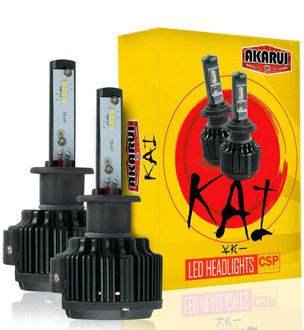 Kai Akarui Led Headlight Bulbs Conversion Kit - 9006