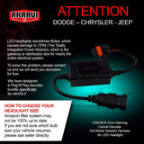 Akarui Led Headlight Bulbs Conversion Kit - H11 (H8/H9)