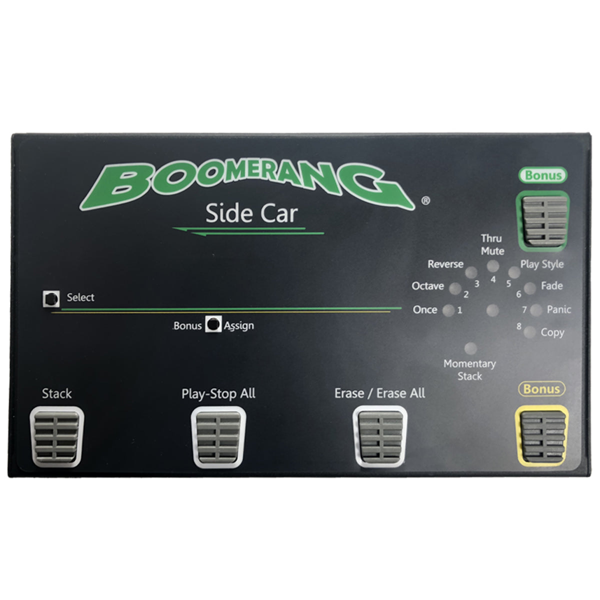 SIDE CAR- Unlock more features when you connect this to your Boomerang III