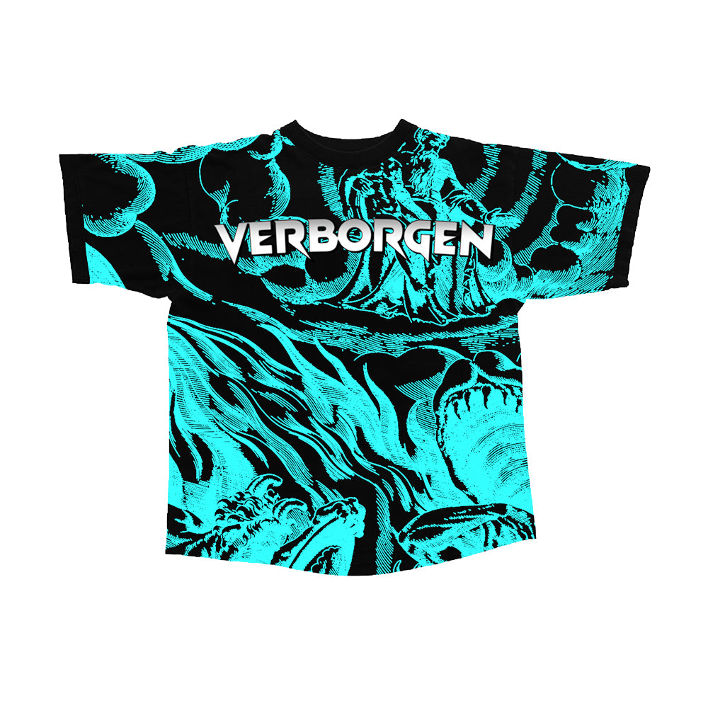 Borgen's Wonderland T-Shirt - Blue
