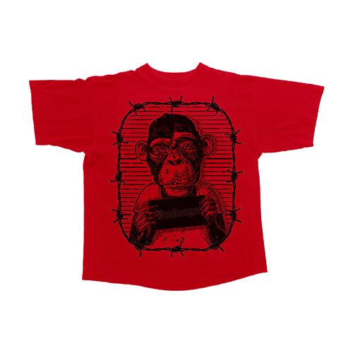 Trapped Monkey T-Shirt (Red)