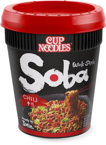 Nissin Yakisoba Cup Fideos salteados con chile - 92 G