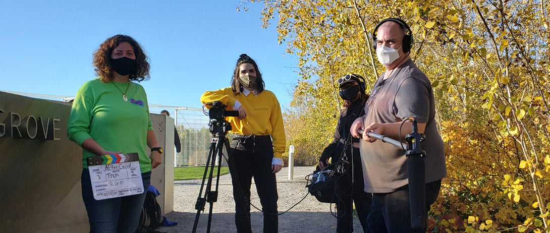 """RG Pro Apprentices on the set of our """"State of Innovation"""" project!"""
