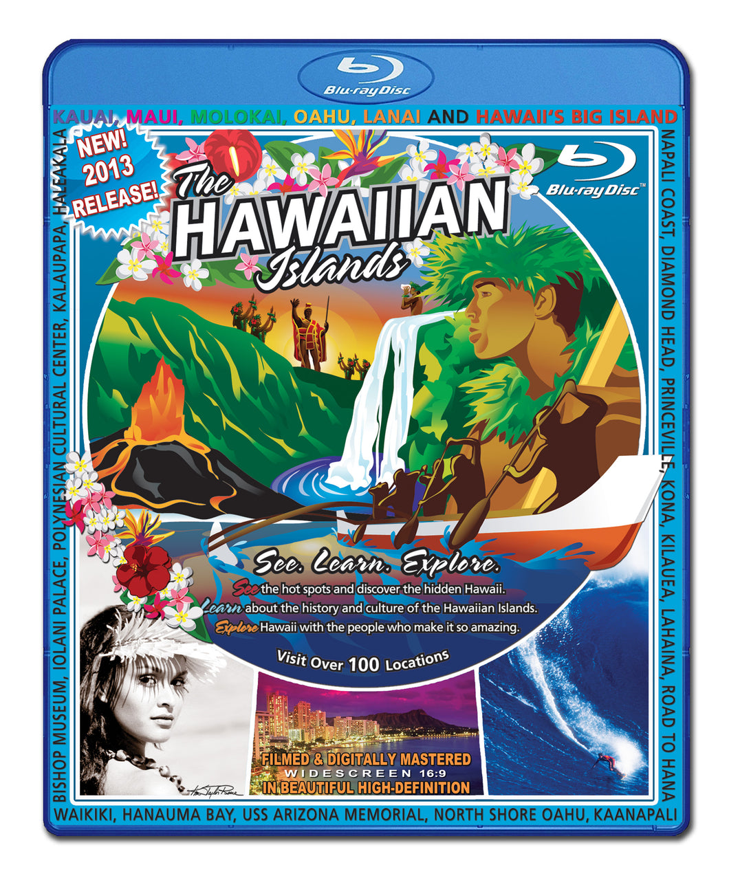 Video Postcard of the Hawaiian Islands Blu Ray