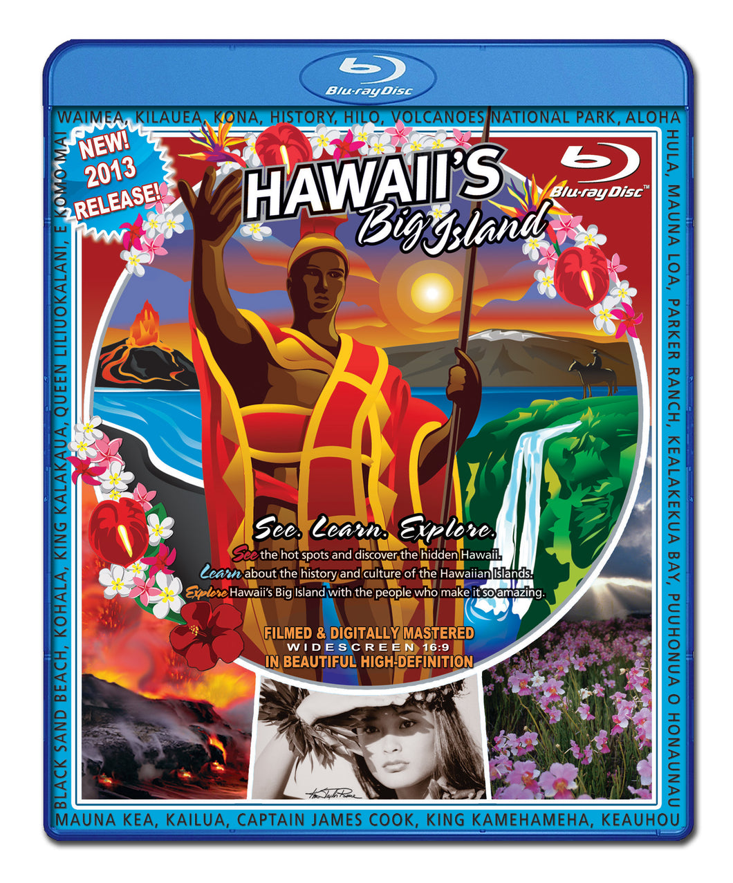 Video Postcard of Hawaii's Big Island Blu Ray