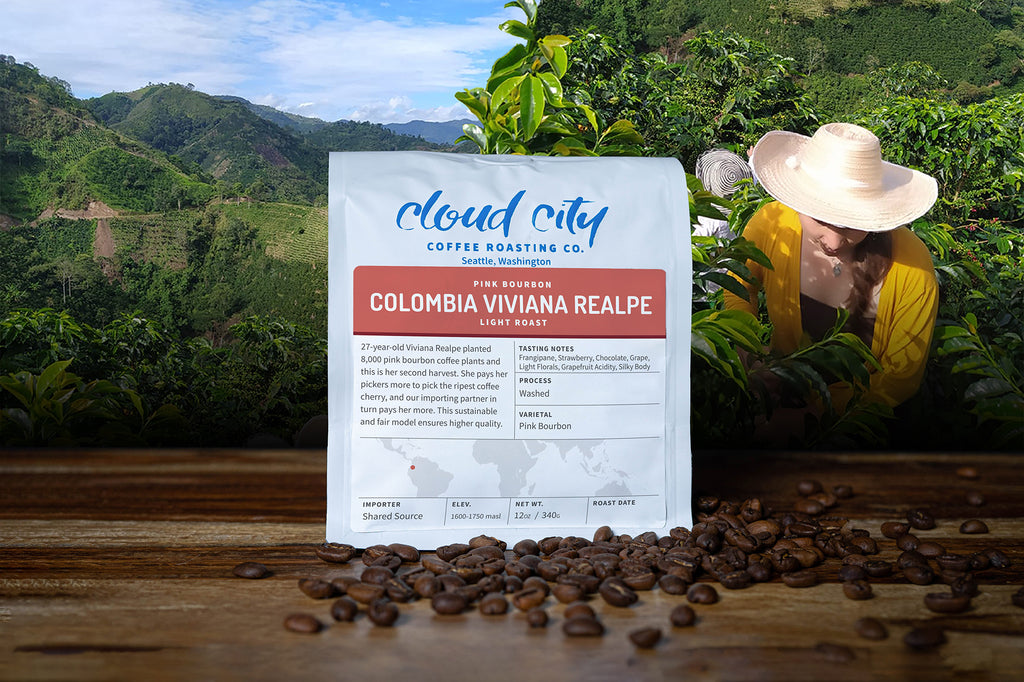 Origin Story: Colombia Viviana Realpe Pink Bourbon