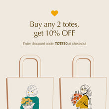 Load image into Gallery viewer, See you again (For couples): Canvas tote bag