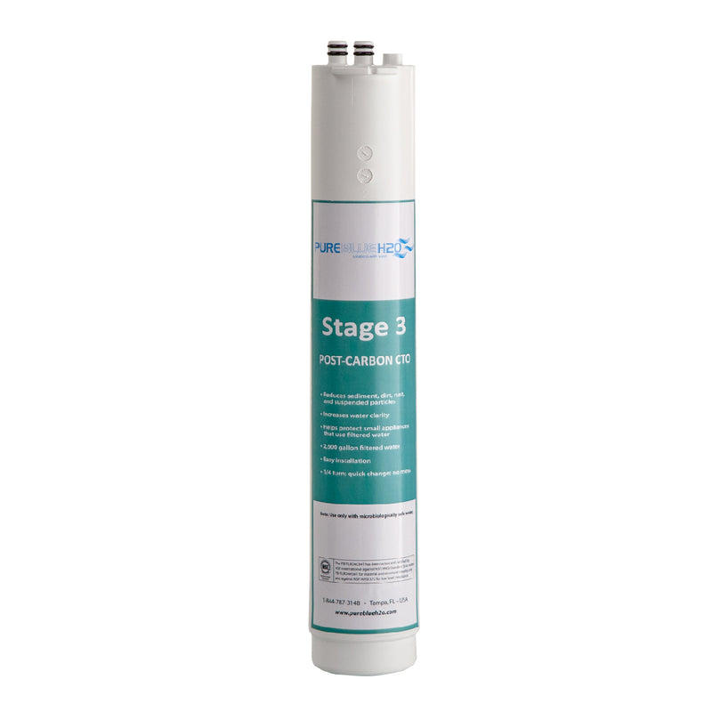 3-Stage 1:1 Reverse Osmosis Three-Pack Replacement Filters