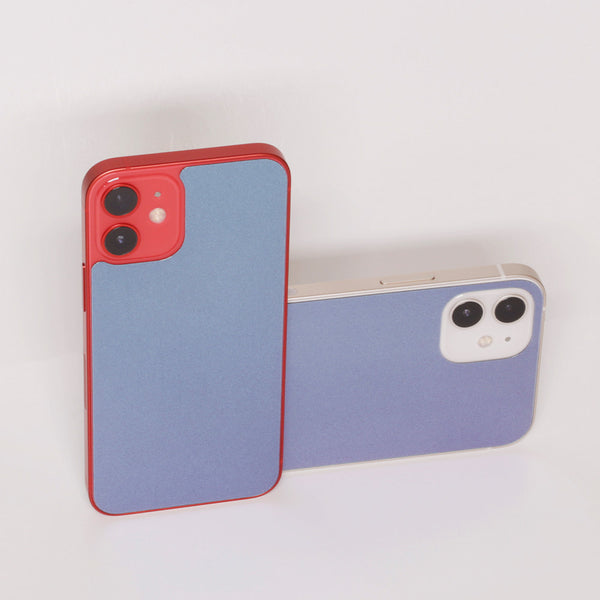 Sapphire Shift- [ Color Changing iPhone 12 Back Protector ]