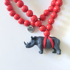 The Rhino Necklace  - More colour options.