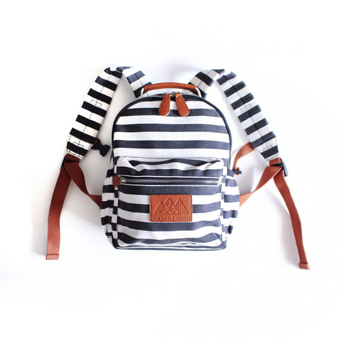Mini Backpack - For The Love Of Stripes