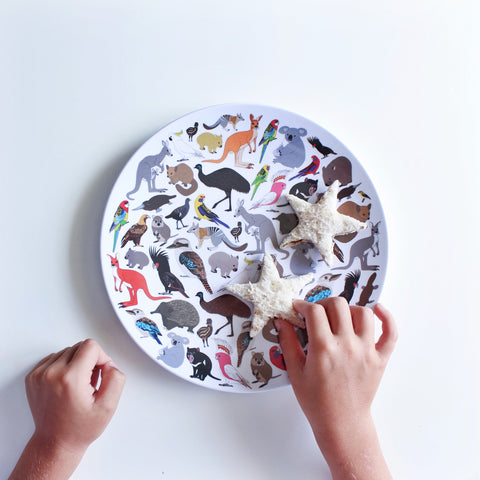 The Animal Plate - Aussie Animals *pre order for next week.