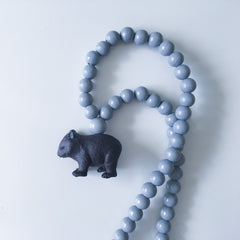 The Wombat Necklace  - More colour options.