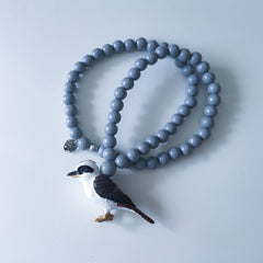 The Kookaburra Necklace  - More colour options.